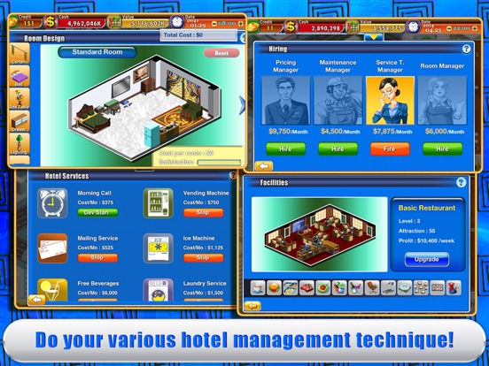Screenshot #5 for Hotel Tycoon 2