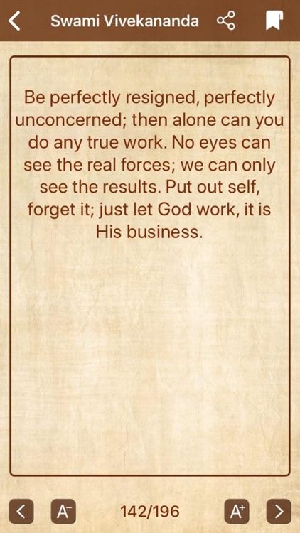 Swami Vivekananda - Quotes screenshot-6