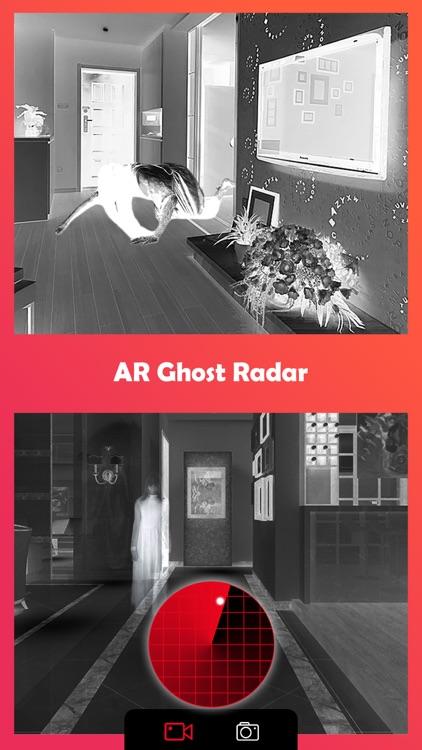 Ghost Lens AR Fun Video Editor screenshot-4
