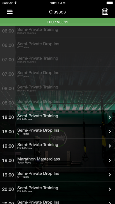 Greenwich Training screenshot three