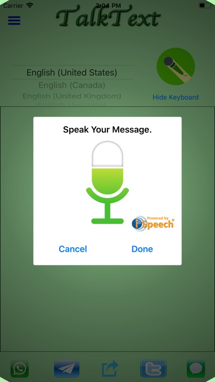 TalkText: Speech-to-Text screenshot-0