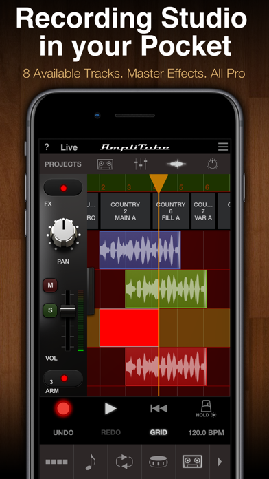 Screenshot #3 pour AmpliTube Acoustic CS