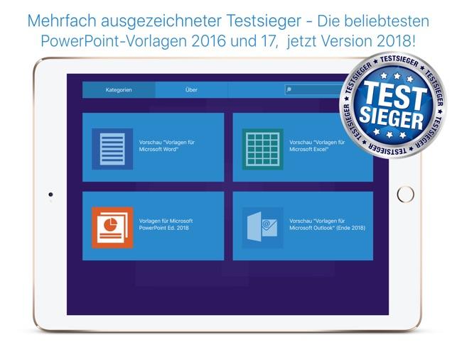 Office Vorlagen für Microsoft Word & PowerPoint im App Store