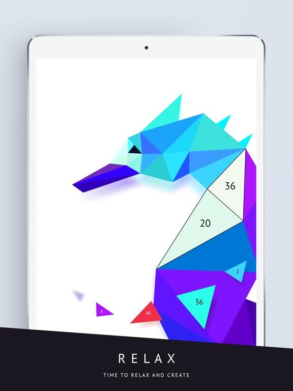 Poly Artbook - puzzle game screenshot 9