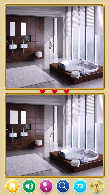 Find The Difference! Rooms HD screenshot-6
