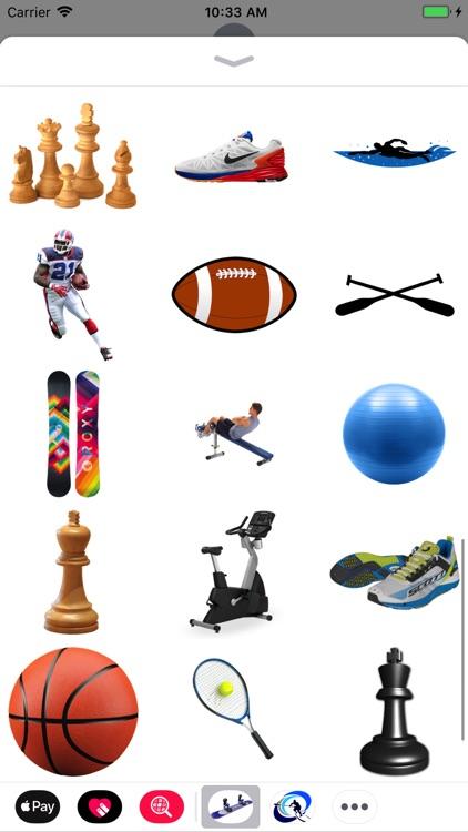 Sports Stickers!
