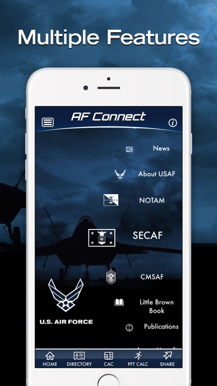 USAF Connect screenshot-1