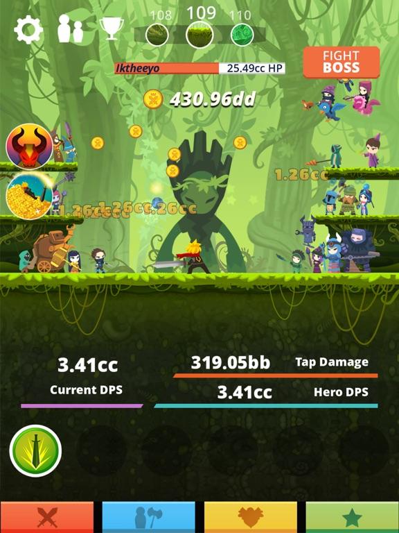 Tap Titans для iPad