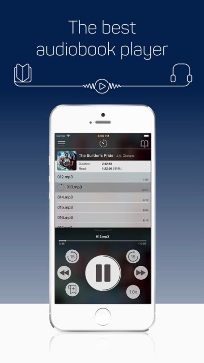 MP3 Audiobook Player Pro