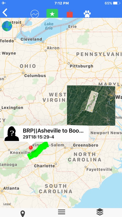 Skyline Dr Shenandoah Tour Map screenshot-8