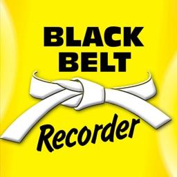 Black Belt Recorder White Belt