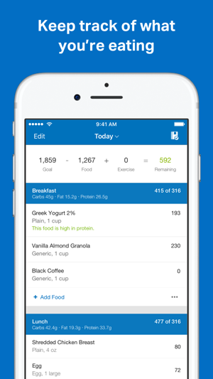 myfitnesspal on the app store