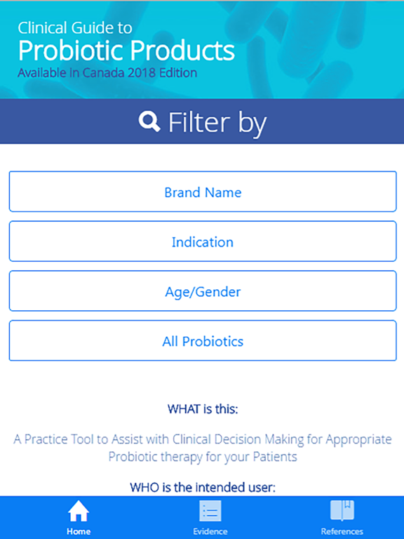 iPad Image of Probiotic Guide Canada