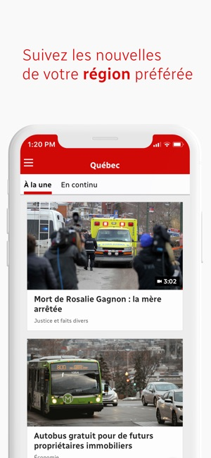 Radio-Canada Info on the App Store
