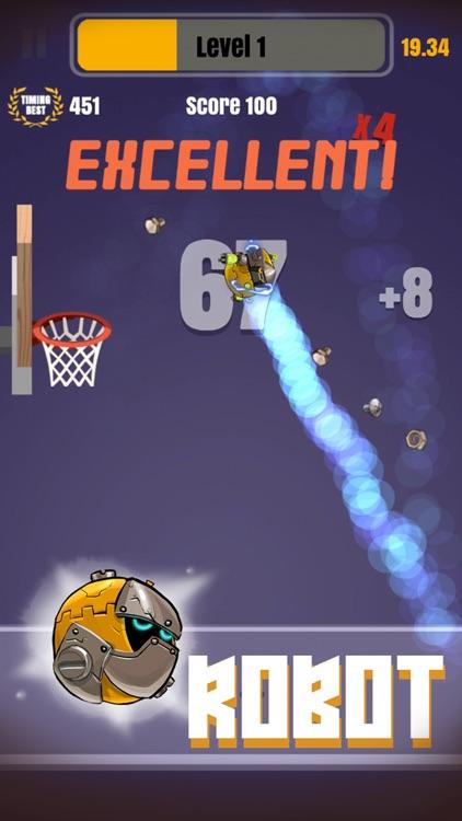 Tap Shots - dunk shot on fire screenshot-3