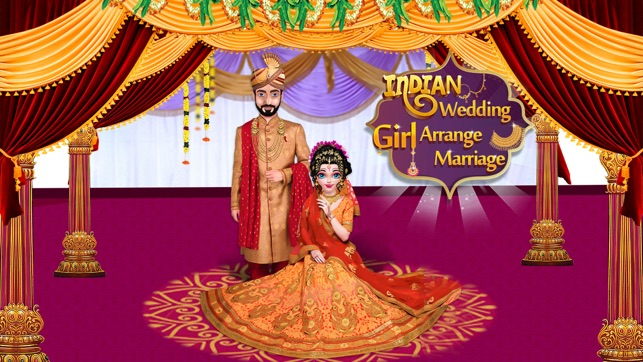 Royal Indian Girl Wedding On The App Store
