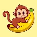 Naughty Monkey Stickers!