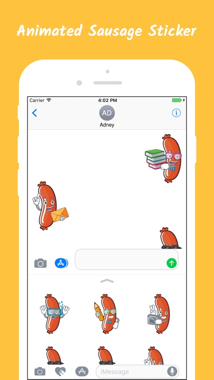 Animated Sausage Stickers screenshot-3