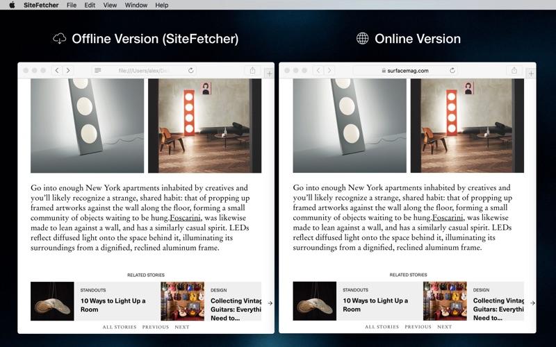 SiteFetcher Screenshot