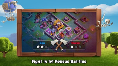 Clash of Clans screenshot for iPhone