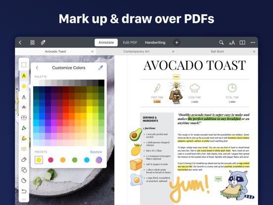 Documents-File,Web Browser,PDF iPad app afbeelding 6