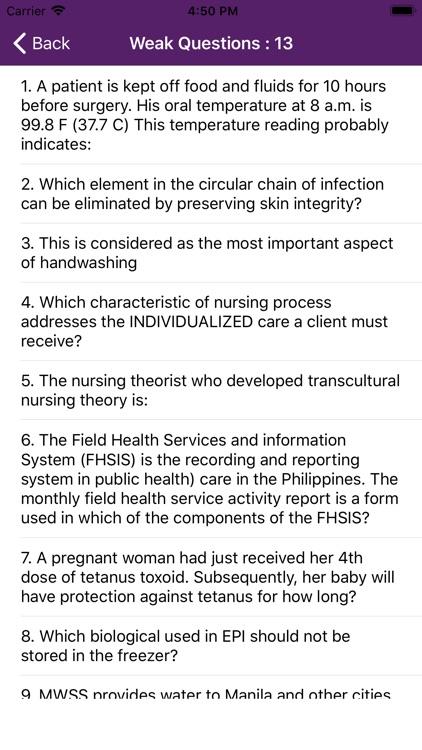 Fundamentals of Nursing Mock screenshot-9