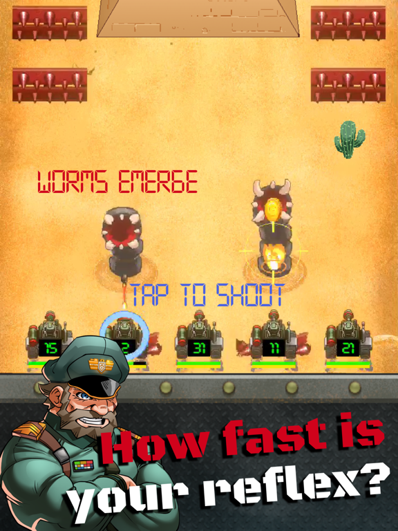 Tank Army - 高速アクション・シューティングゲームのおすすめ画像1