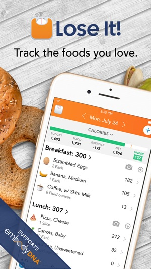 lose it calorie counter on the app store