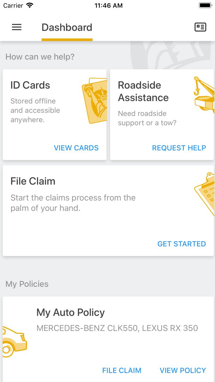 Liberty Mutual Mobile Screenshot