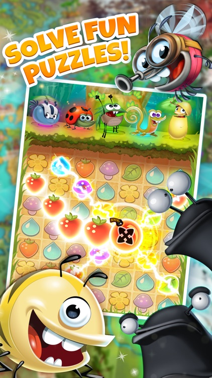 Best Fiends - Puzzle Adventure screenshot-0