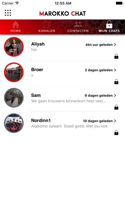 Marokko Chat screenshot-3