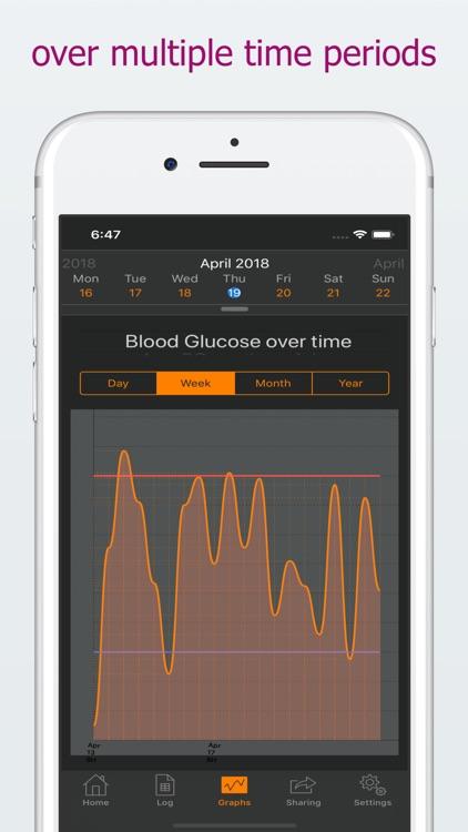 DiabetoLog - Diabetes log book screenshot-4