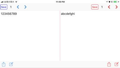 Dual NotePad screenshot 3