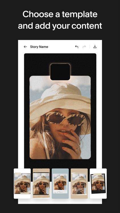 Unfold: Story & Collage Maker screenshot-3