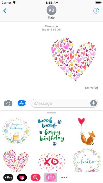 Kathy Davis Stickers screenshot-4