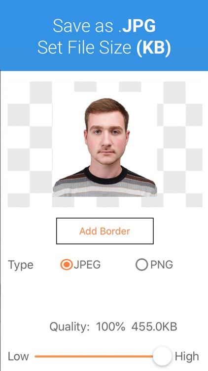 Passport Photo - ID Photo App screenshot-5
