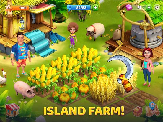 Bermuda Adventures: Farm Games iPad app afbeelding 4