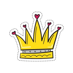 King's Crown Stickers
