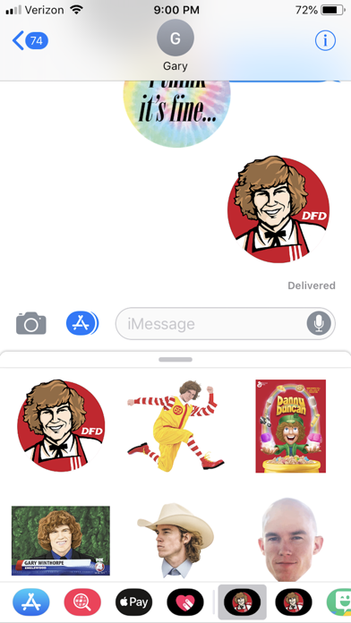 Download Danny Duncan Sticker Pack for Android