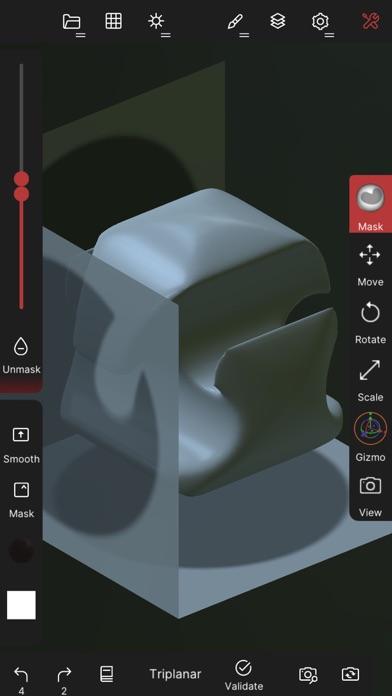 Скриншот №8 к Nomad Sculpt
