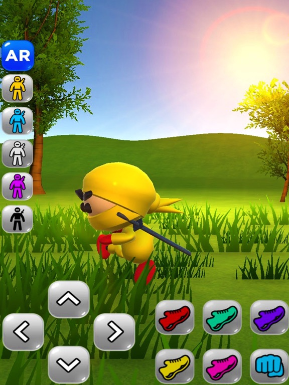 Screenshot 4 Ninja Kid AR: Augmented Action