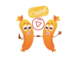 Animated Sausage Stickers