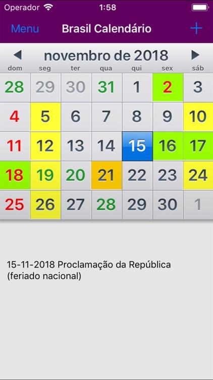 Calendario 2018 Brasil.Calendario 2019 Brasil Adfree By Rhappsody Technologies