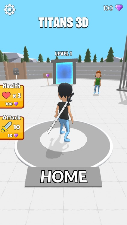 Titans 3D screenshot-0