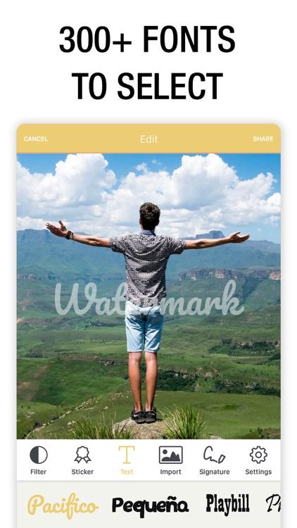 Watermark Photo: Add Copyright screenshot-6