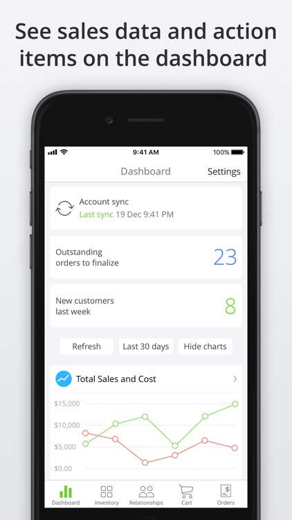 TradeGecko Mobile - Sales app screenshot-1