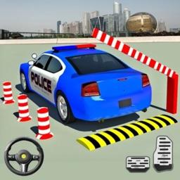 Modern Police Car Parking 2