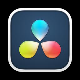 Ícone do app DaVinci Resolve