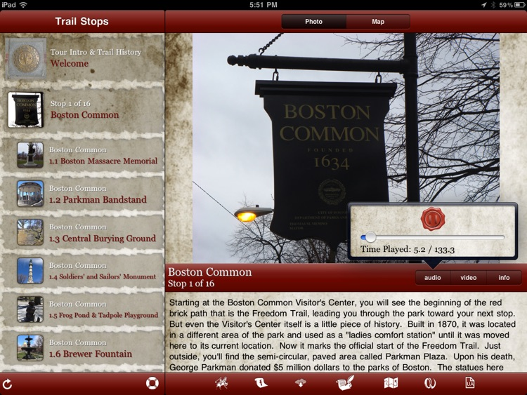 Tour Freedom Trail for iPad screenshot-4