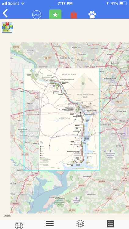 George W. Mem. Pkwy Tour Maps screenshot-4